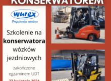szkolenie z konserwacji wózków jezdniowych‼ Szkolenie zakończone jest egzaminem UDT