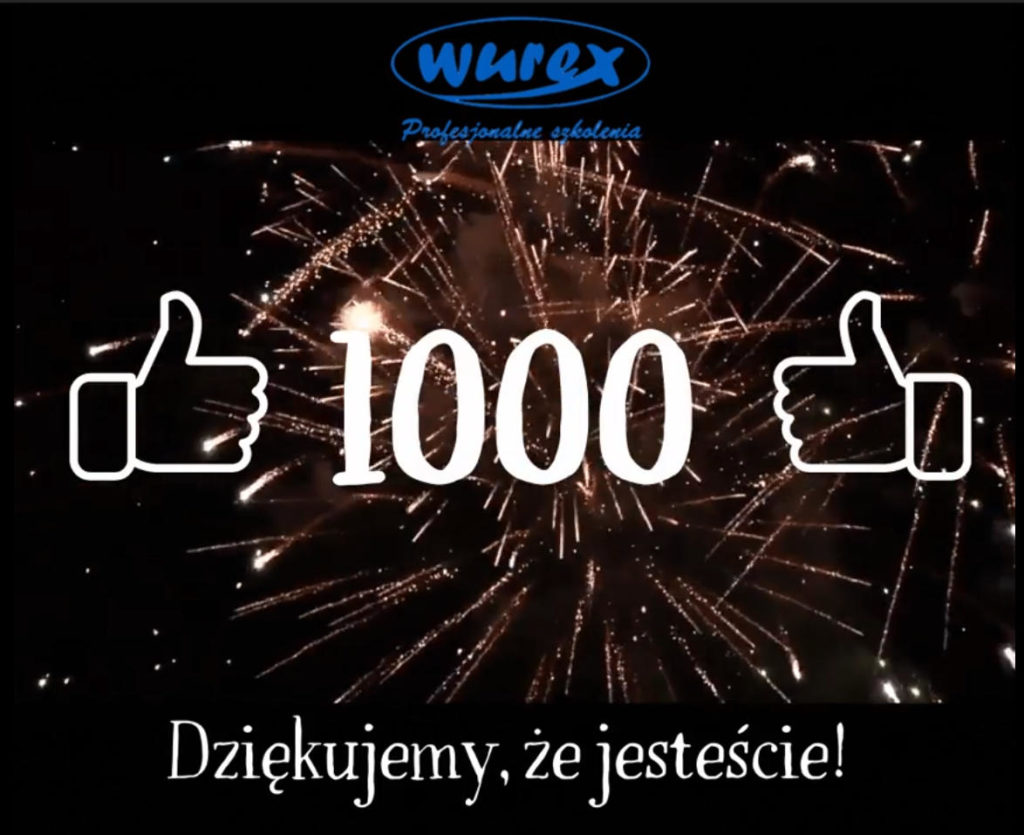 ‼ 1000 Polubień ‼ na facebooku